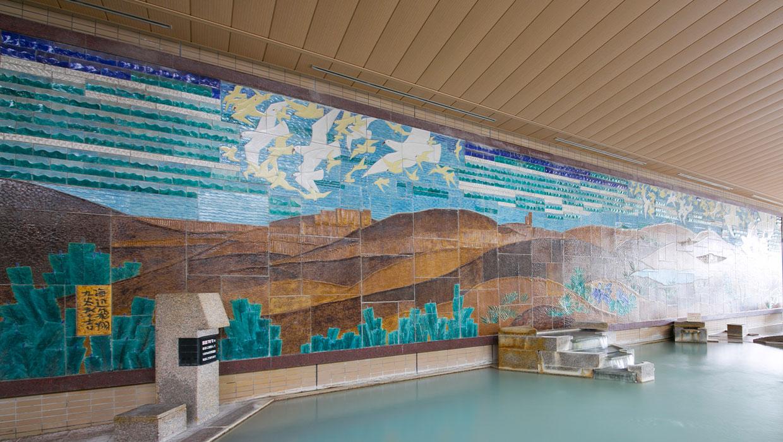 壁畫大浴場
